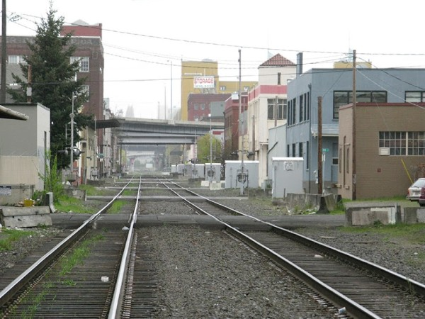 The Central Eastside Industrial District will remain bisected by First Avenue's  exclusive railway use. With increasing interest in residential development in the CEID, can a quiet zone push be far behind?